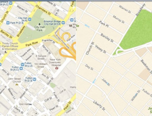 Mobile maps showdown