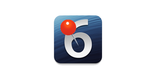ios6 apple google maps pin