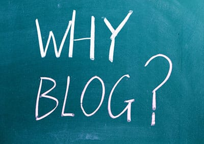 Using a Blog for Your Business Website